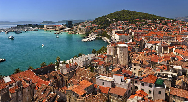 Split is another city in Dalmatia with amazing culture and history.t