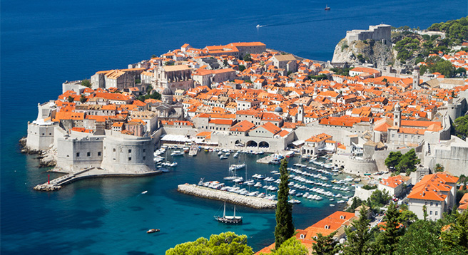 Dubrovnik is known as one of the oldest free trading towns in the Mediterranean, rivaling Venice.