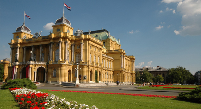 Visit Zagreb - a bustling metropolis and the capital of Croatia.