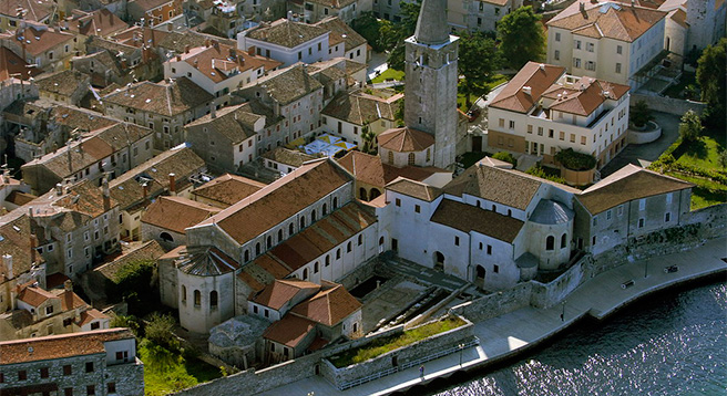 Another town worth a visit – Poreč, known for its Euphrasian Basilica from the 6th century inscribed on the UNESCO World Heritage List in 1997