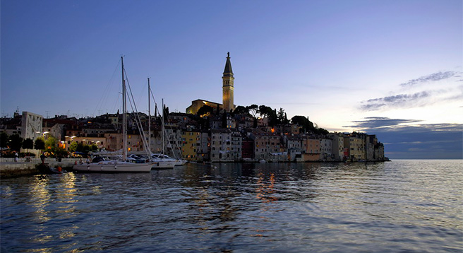 You don't want to miss visiting Rovinj - one of the most 'photogenic' towns in the Mediterranean