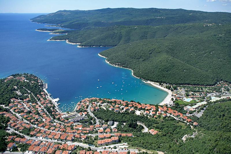 Istrien Karte Rabac.Urlaub Rabac Reiseorte In Kroatien Familienurlaub Istrien